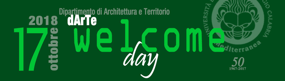 17 ottobre Welcome day dArTe